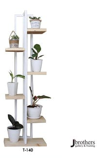 Jbrothers T - TOWER PLANT STAND 7 POT