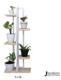 Jbrothers T - TOWER PLANT STAND 6 POT
