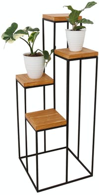 Jbrothers FOUR SEASON TOWER PLANT STAND 4 POT