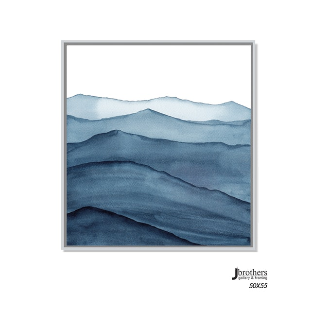 Jbrothers Poster Kanvas Abstrack WD 162 50x55 cm