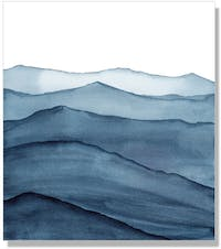 Jbrothers Frameless Abstrack WD 173 40x40 cm
