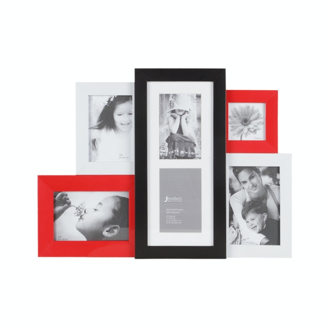 Jbrothers Mix Frame Red & White series with matboard MF 05