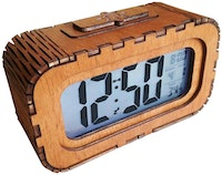 BiruTua Digital Wall Clock