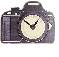 BiruTua Camera Wallclock / Table