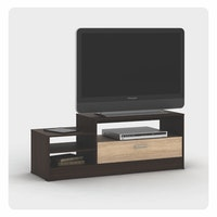 Metropolis Meja / Rak TV AMERICAN WALNUT - SONOMA OAK (ALBA TV 120)