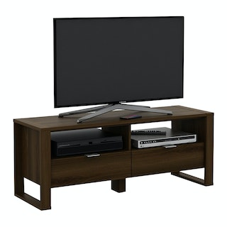Pira PIRA - CYPRESS TV120 Meja TV / Rak TV Kayu Gelap brown walnut