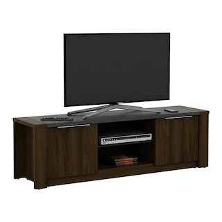 Pira PIRA - JAVA TV150 Meja TV / Rak TV Kayu Gelap Brown Walnut - Stone