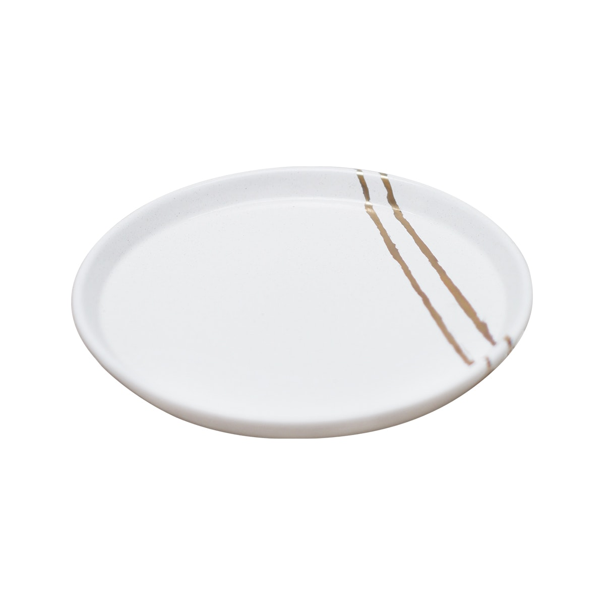 Carra Gold Lining Plate 25cm