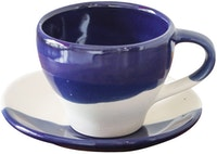 Carra Lyla Teacup & Saucer Blue