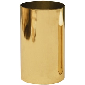 Carra Metallic Gold Candle Holder (Tall)