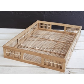 Carra Rectangle Cage Tray