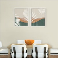 Codeco Poster Set Tropical Palm White