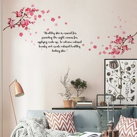 Codeco Wall sticker Pink Cherry Blossom