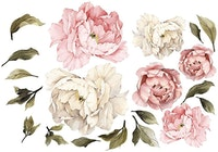Codeco Wall Sticker Pink Peonies Big