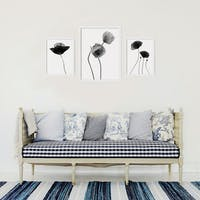 Codeco Poster set Paper Floral BW