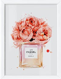 codeco Poster Peonies on Bottle