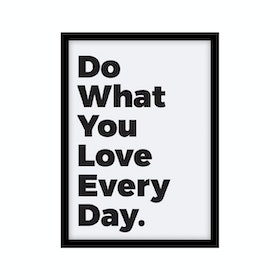 CADREHOME Do What Yo Love Every Day (5R)