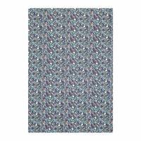 Chic For Home Floral Fossil Canvas Rugs