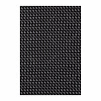 Chic For Home Stairs black Canvas Rugs