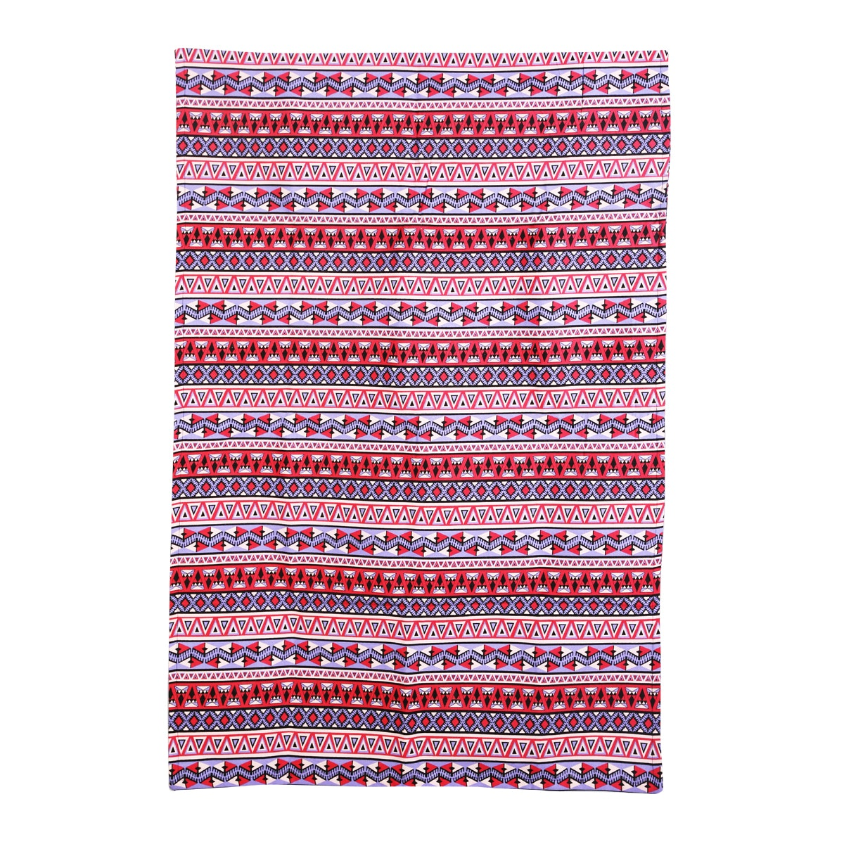 Chic For Home Ethnic Pink Blue Canvas Rugs