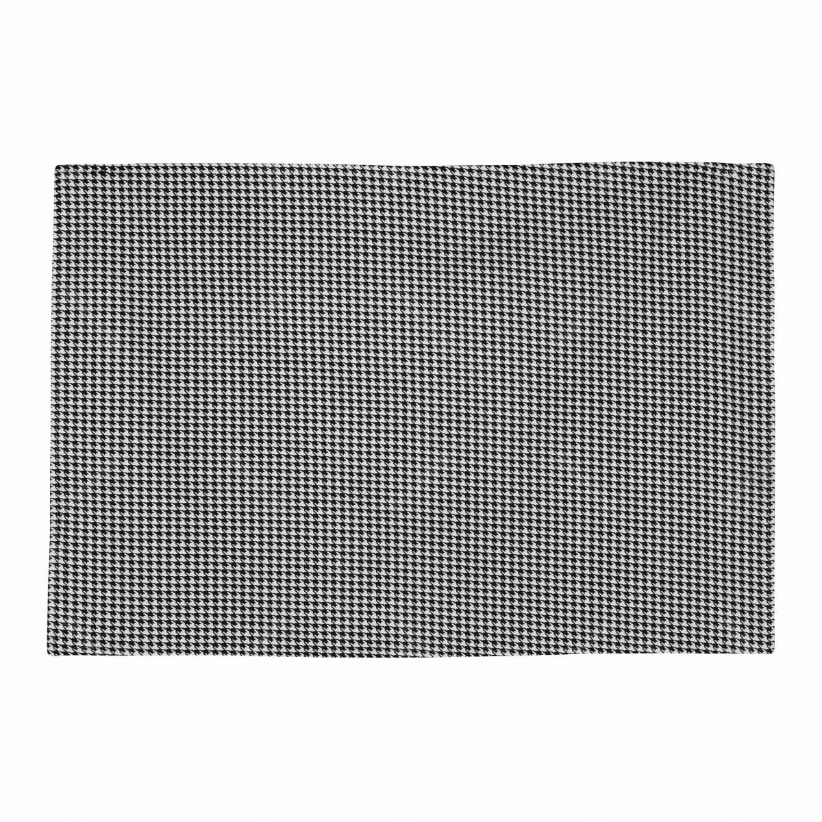 Chic For Home Houndstooth Canvas Rugs