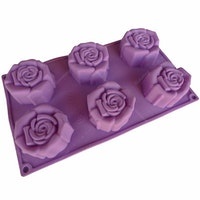 Cetakan Jelly Rose 6 cavity II