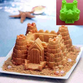 Cetakan Jelly Castle