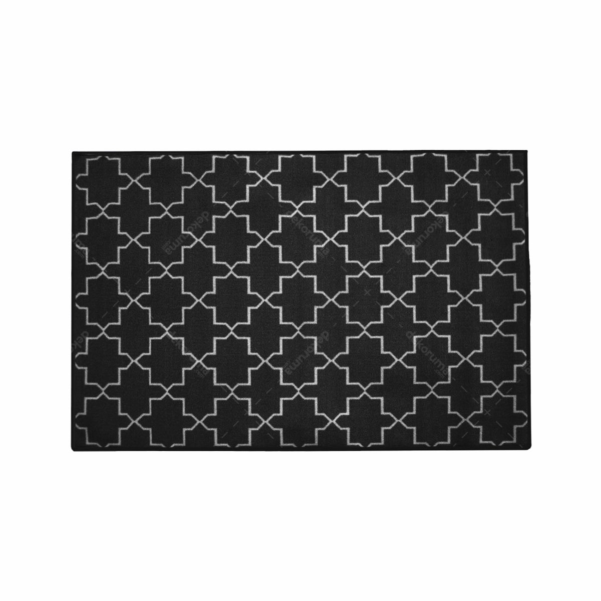 ARTSY Karpet Sweden Anti Slip 100x150 - Black