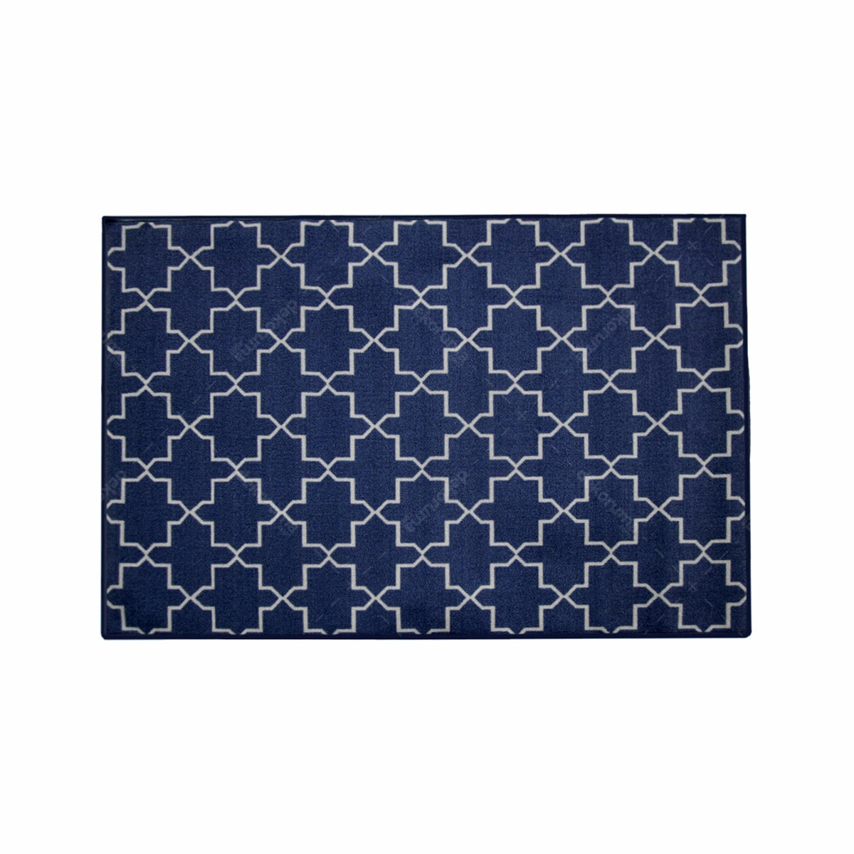 ARTSY Karpet Sweden Anti Slip 100x150 - Navy