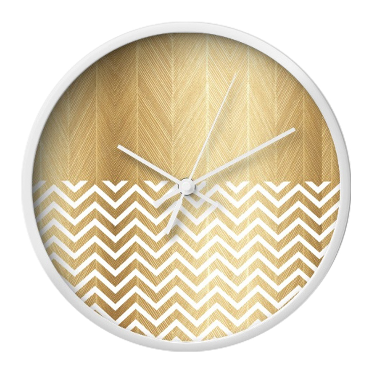 Clouds Clou Wall Clock Brown Monochrome 31x31cm