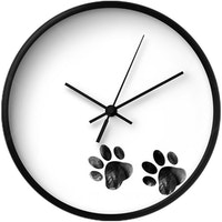 Clouds Clou Wall Clock Footprints 31x31cm