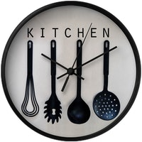 Clouds Clou Wall Clock Kitchen 1 31x31cm