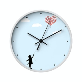 Clouds Clou Wall Clock Ballon of Love 20x20cm