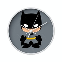 Clouds Clou Wall Clock Batman 1 20x20cm