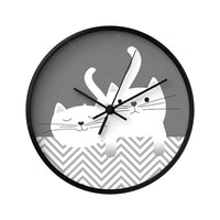 Clouds Clou Wall Clock Cutie Cats 31x31cm