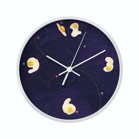 Clouds Clou Wall Clock Egg Number 1 31x31cm