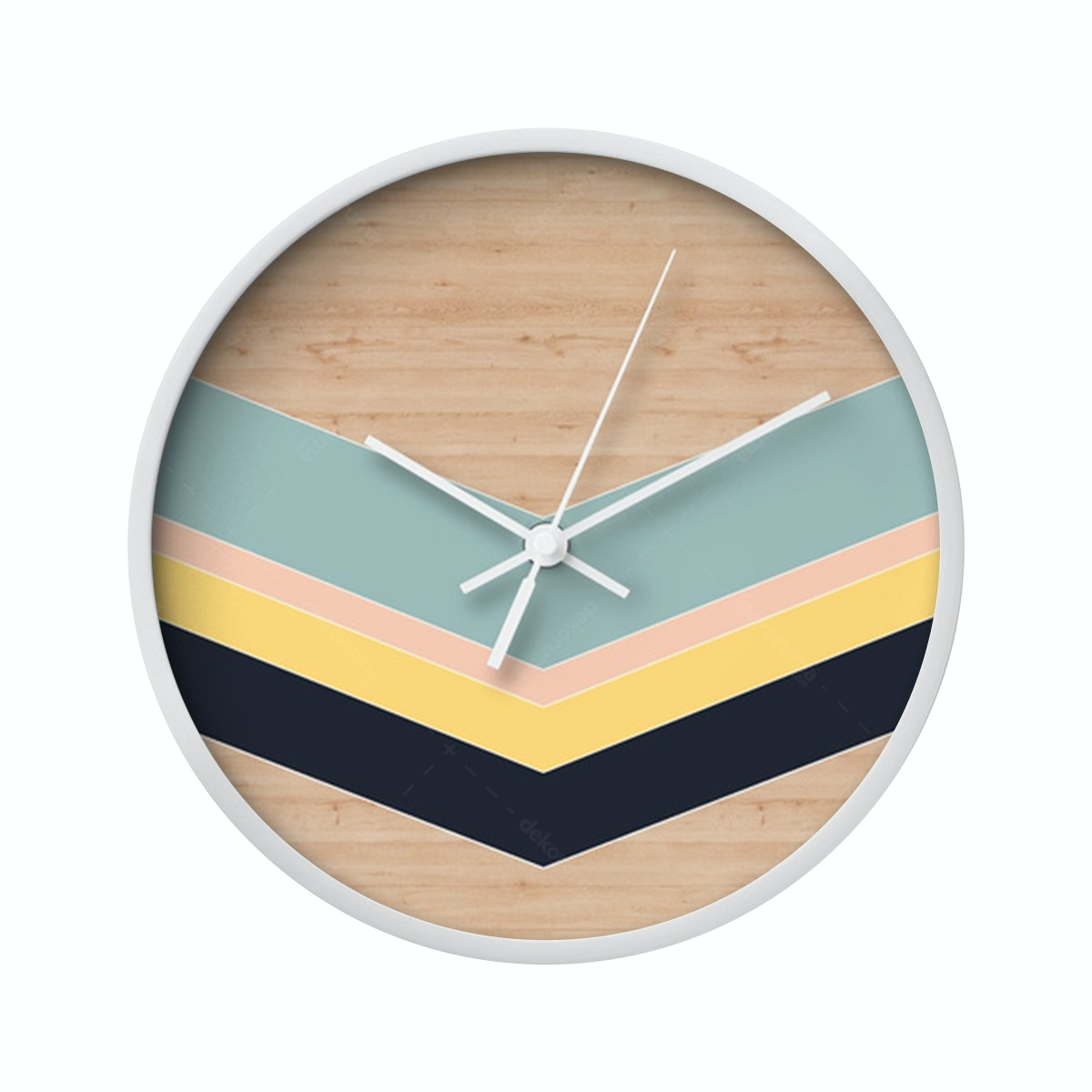 Clouds Clou Wall Clock Stripe 2 31x31cm