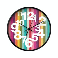 Clouds Clou Wall Clock Stripe 3 31x31cm