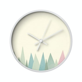 Clouds Clou Wall Clock Triangle 2 20x20cm