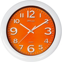 OnTime Jam Dinding 767-16 Orange