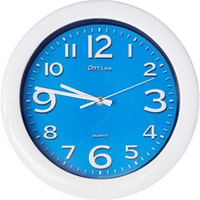 OnTime Jam Dinding 767-16 Light Blue