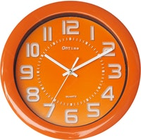 OnTime Jam Dinding Fresh Colour Orange 767-17 Orange