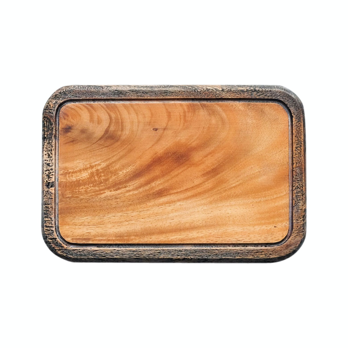 COCOBOLO CANS [wooden chopboard] Blackwash