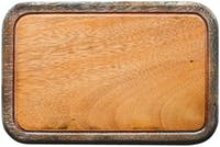 COCOBOLO CANS [wooden chopboard] Whitewash