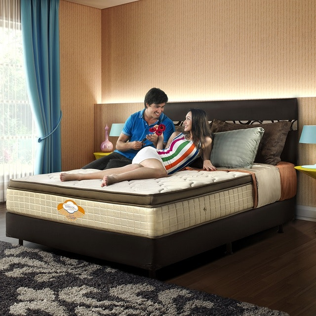 Comforta Kasur 200cm Comforta Super Dream Mattress Full Set