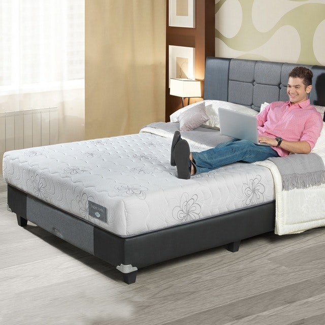 Comforta Kasur 160cm Comforta Super Pedic Full Set