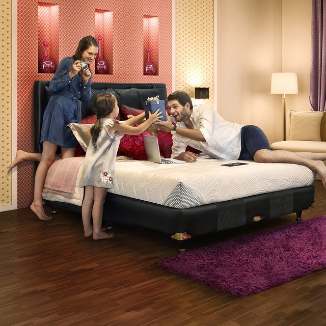 Comforta Kasur 160cm Comforta Solid Spine Mattress Full Set