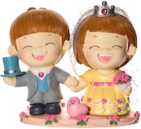 Capodimonte Boy & Girl Couple Figurine Party