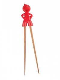 Cooks Habit Boy Chopstick - Red