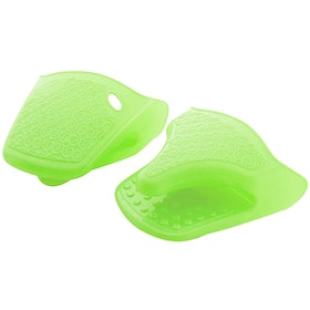Cooks Habit Silicone Gloves - Green